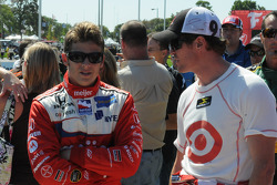 Marco Andretti et Scott Dixon
