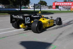 Tomas Scheckter abandonne après 30 tours