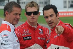 Ryan Briscoe et Helio Castroneves