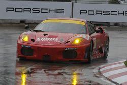 #61 Risi Competizione Ferrari 430 GT:Harrison Brix, Robert Ball