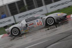 #40 Robertson Racing Doran Ford GT-R: David Robertson, Andrea Robertson, David Murry
