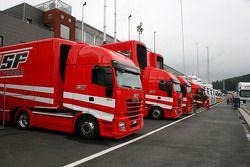 Scuderia Ferrari, trailers