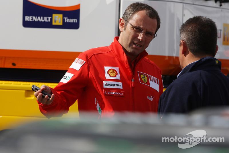 Stefano Domenicali, Scuderia Ferrari, Director deportivo