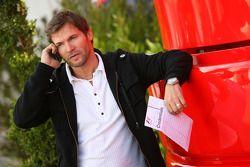 Steve Robertson, Manager de Kimi Raikkonen
