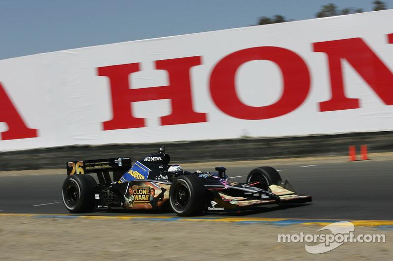 Marco Andretti à Sonoma en 2008