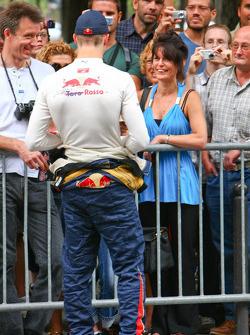 Sebastien Bourdais meets his fans