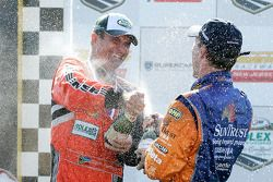 DP podium: Mark Patterson and Max Angelelli celebrate