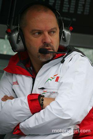 Mike Gascoyne, Force India F1 Team, Director de tecnología