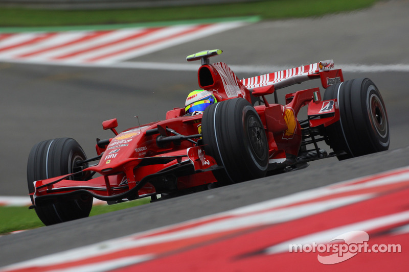 Felipe Massa - 11 victorias con Ferrari