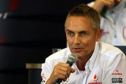 Conferencia de prensa FIA: Martin Whitmarsh, McLaren, Director Ejecutivo