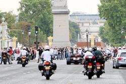 Sebastien Bourdais, Scuderia Toro Rosso, demonstration Paris