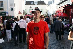 Sébastien Bourdais, Scuderia Toro Rosso, demonstration in Paris