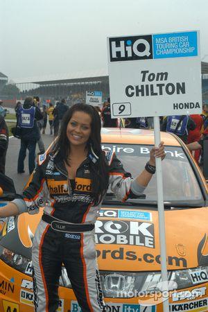 Chilton's grid girl