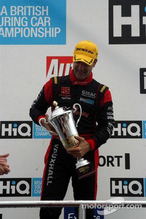 Third place Fabrizio Giovanardi