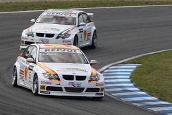 Felix Porteiro, BMW Team Italy-Spain, BMW 320si and Alex Zanardi, BMW Team Italy-Spain, BMW 320si