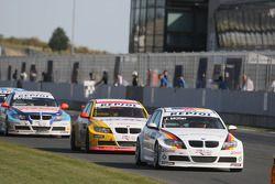 Jorg Muller, BMW Team Germany, BMW 320si, Duncan Huisman, Wiechers-Sport, BMW 320si