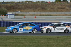 Nicola Larini, Chevrolet, Chevrole Lacetti and Jorg Muller, BMW Team Germany, BMW 320si