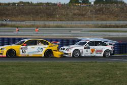 Oliver Tielemans, Wiechers-Sport, BMW 320si and Alex Zanardi, BMW Team Italy-Spain, BMW 320si