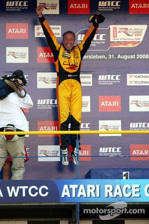 Podium Race 2, Tom Coronel, Sun Red SEAT Team, SEAT Leon FSI