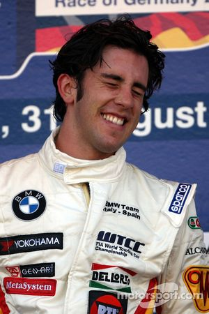 Podium, Felix Porteiro, BMW Team Italy-Spain, BMW 320si