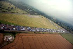1086 Subarus spell out Colin McRae setting a Guinness world record