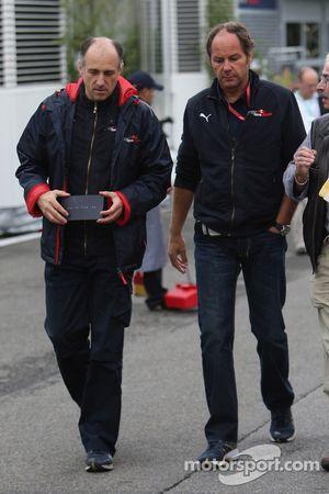 Franz Tost, Scuderia Toro Rosso, director del equipo Gerhard Berger, Scuderia Toro Rosso, Team Co pr