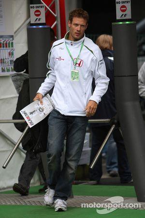Alexander Wurz, piloto de prueba, Honda Racing F1 Team