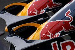 Red Bull Racing alas delanteras