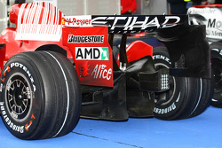 arka kanat ve diffuser, the, Scuderia Ferrari, F2008