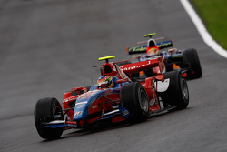 Bruno Senna leads Giorgio Pantano