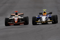 Mike Conway et Diego Nunes