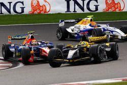 Andy Soucek devant Giorgio Pantano