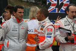 Pedro de la Rosa, Test Driver, McLaren Mercedes con Lewis Hamilton, McLaren Mercedes