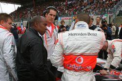 Anthony Hamilton; Lewis Hamilton, McLaren Mercedes