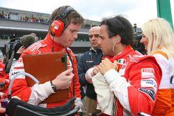 Rob Smedly, Scuderia Ferrari, Renningenieur; Felipe Massa, Scuderia Ferrari