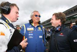 Alan Permaine, Renault F1 Team, ingeniero con Flavio Briatore, Renault F1 Team, jefe del equipo, Dir