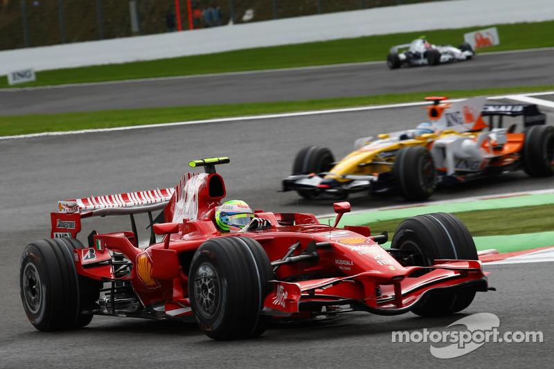 2008: Felipe Massa, Ferrari, F2008