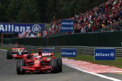 Kimi Raikkonen, Scuderia Ferrari, F2008, Lewis Hamilton, McLaren Mercedes, MP4-23