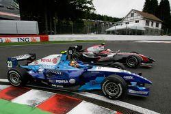 Kamui Kobayashi et Pastor Maldonado