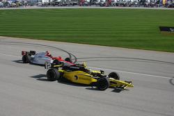 Tomas Scheckter and A.J. Foyt IV