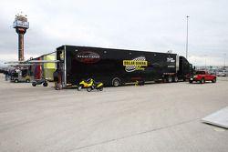 Le transporteur Sarah Fisher Racing