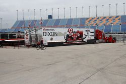 Le transporteur Ganassi Racing