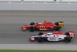 Darren Manning and Justin Wilson run together