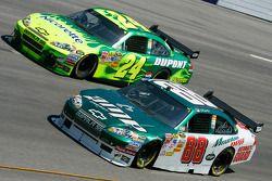 Dale Earnhardt Jr. y Jeff Gordon