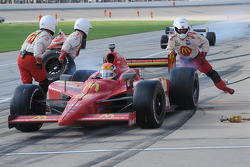 Justin WIlson leaves the pits