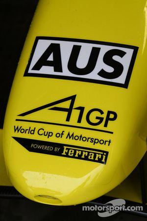 Nose cone of the of A1 Team Australia