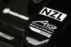 Nose cone of the A1 Team New Zealand car
