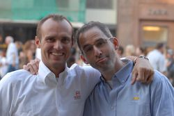 Rickard Rydell e Alain Menu