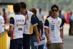 Lucas di Grassi, pilote d'essai Renault F1 Team