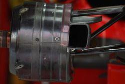 Ensemble de frein de la Scuderia Ferrari